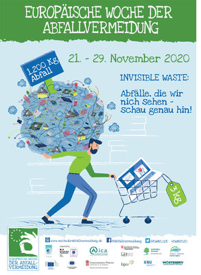 Poster De invisible waste